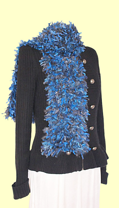 Blue Ribbon Scarf